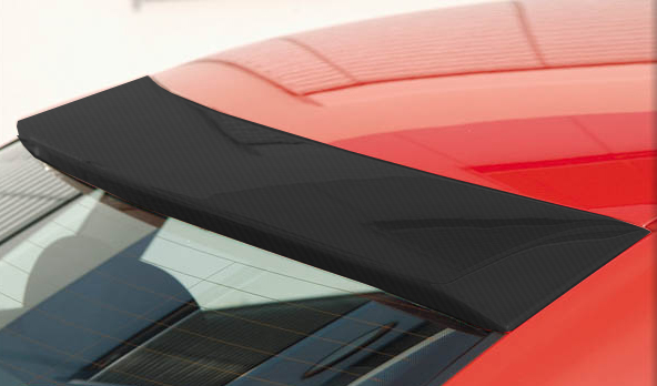 Rieger Carbon Look Rear Window Cover Audi A4 B5 95-01 - R 99003