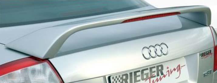 Rieger Rear Wing w/ Brake Light Audi A4 B6 Type 8E 02-05 - R 55243