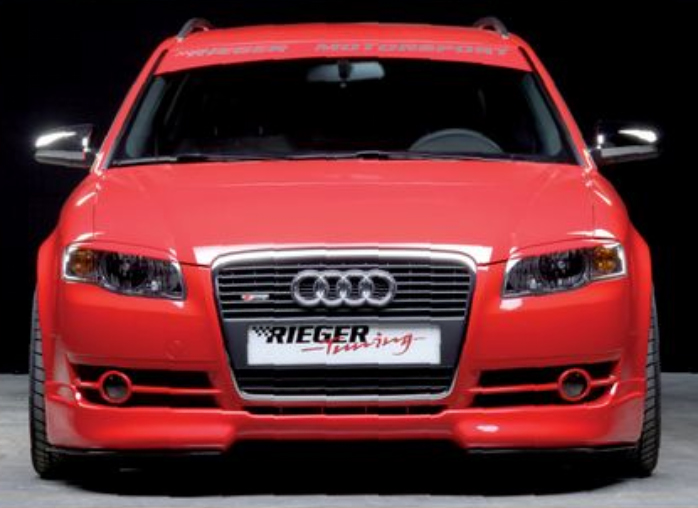 Rieger Front Lip Spoiler Audi A4 B7 Type 8E 05-08