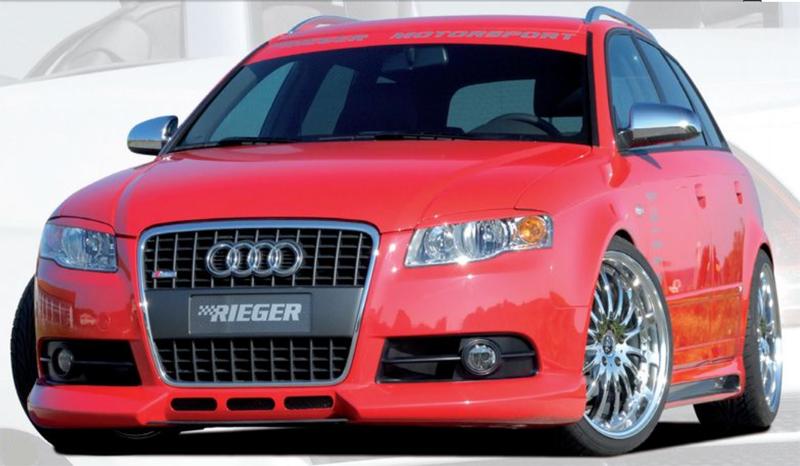 Rieger Front Lip Spoiler Audi A4 B7 Type 8E S-Line 05-08 - R 55230