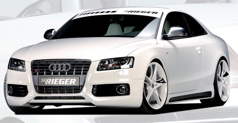 Rieger A5 S8 Front Spoiler Audi S5 B8 & S-Line 08-12