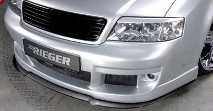Rieger DTM Front Splitter for Front Bumper Audi A6 C5 4B 98-04 - R 55302