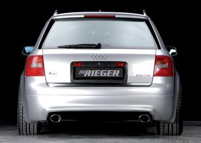 Rieger Rear Apron Diffuser Audi A6 C5 4B 98-04 - R 55308