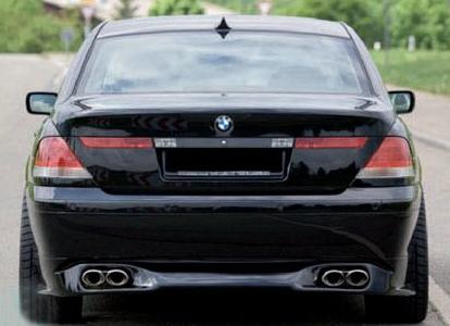 Rieger Rear Lip Spoiler BMW 7 Series E65 03-05 - 240245