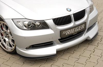 Rieger Front DTM Two Part Splitter for Lip BMW E90 Sedan 06-08 - R 53401