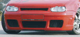 Rieger RS4 Look Front Bumper w/ Side Gills Volkswagen Golf IV 99-05 - R 59015