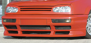 Rieger GTS Front Grill for Cars w/ Golf IV Look Headlamps Volkswagen Golf III 93-99 - R 42008