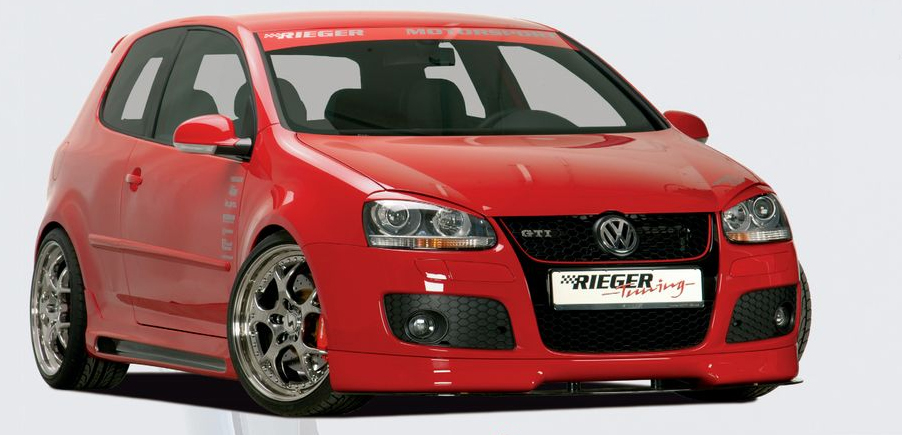Rieger Carbon Look Left Side Skirt Volkswagen Golf GTI V 4dr 05-08 - R 99752