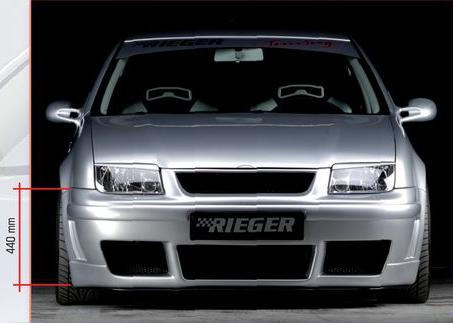Rieger Front Bumper w/o Side Gills Volkswagen Jetta IV 99-05 - R 59029