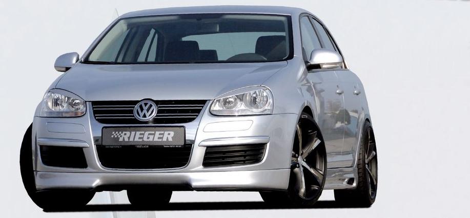 Rieger Front Lip Spoiler Volkswagen Jetta V 05+ - R 59400