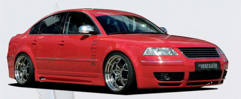 Rieger Front Lip Spoiler Volkswagen Passat 3BG 00-05 - R 24031