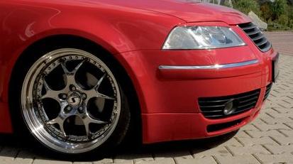 Rieger Front Lip Spoiler Volkswagen Passat 3BG Turbo 00-05