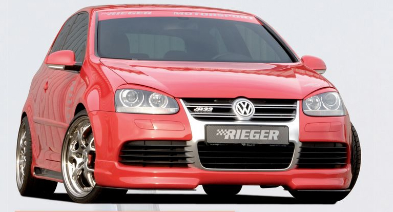Rieger Front Lip Spoiler Volkswagen R32 MkV 06-08 - R 59420