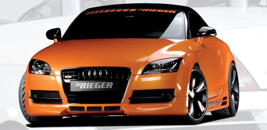 Rieger Front Lip Spoiler w/ 3 Intakes Audi TT 8J 07-12 - R 55150