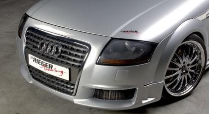 Rieger R-Frame Front Bumper w/ Washers Audi TT 8N 00-06 - R 55108
