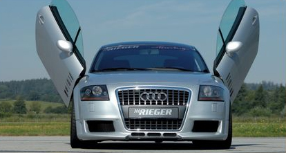 Rieger R-Frame Front Bumper w/ 3 Intakes & Washers Audi TT 8N 00-06 - R 55122