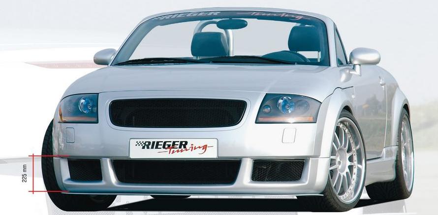 Rieger RS4 Look Front Spoiler Audi TT 8N 00-06 - R 55116