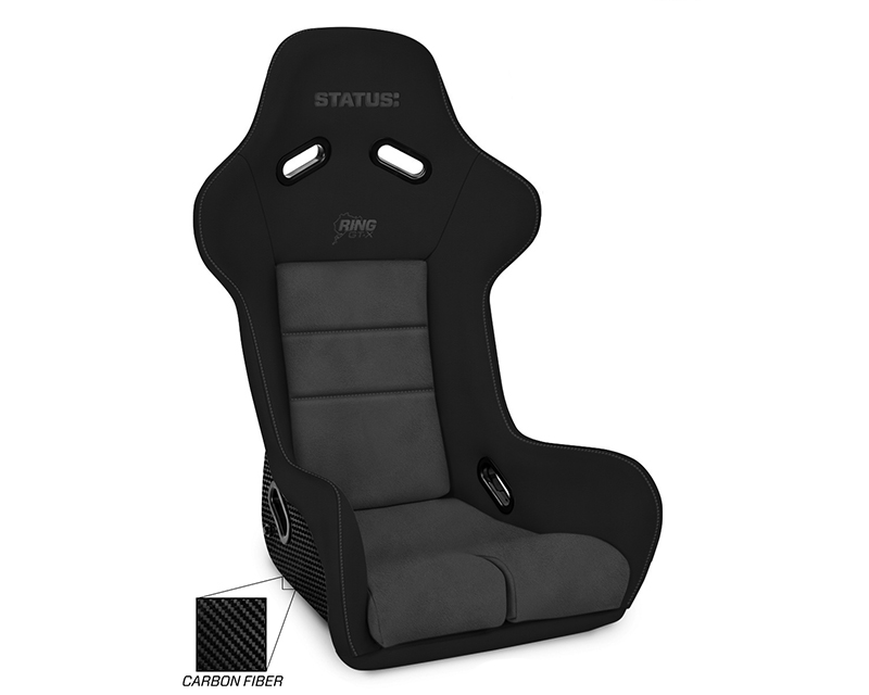 Status Racing Ring GT-X Custom Made Carbon Racing Seat - SR-RGTX-CF