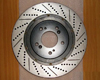 Image of Rotora Front Right Drilled Slotted Rotor Chrysler 300C SRT8 06