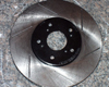 Image of Rotora Front LeftRight Slotted Rotor Acura CL 3.0L V6 98-99
