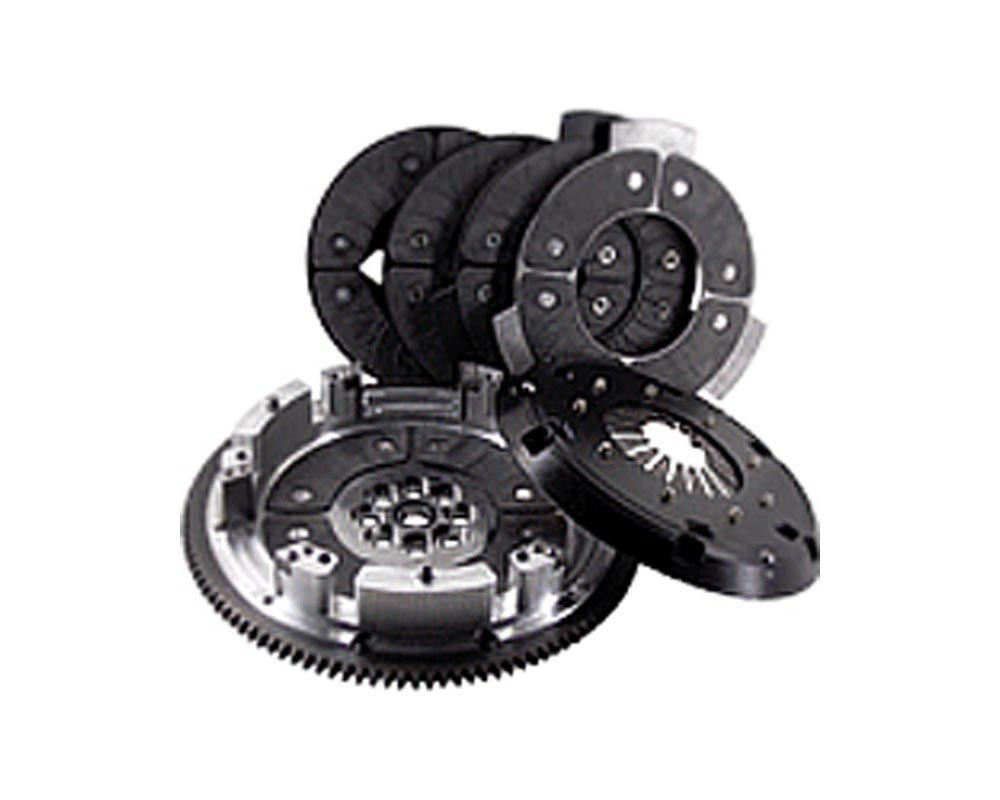 RPS Billet Strapless Twin Disk Carbon Clutch with Steel Flywheel Acura NSX 90-05 - BC2PK-01NSX