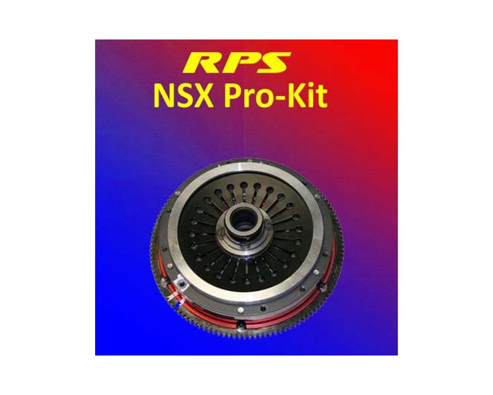 RPS Pro Kit 6-Puck Clutch with Aluminum Flywheel Acura NSX 90-05 - PK-01NSX-SP