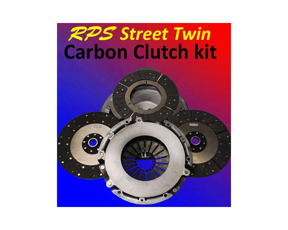 RPS Street Twin Carbon Clutch with Steel Flywheel Chevrolet Corvette C6 05-12 - ST-04LSX-C6