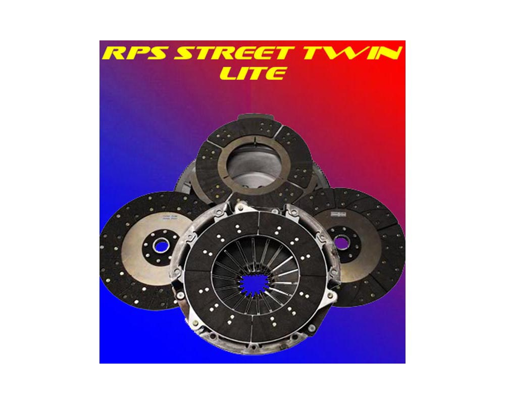 RPS Street Twin Lite Clutch with Steel Flywheel Pontiac GTO 04-06 - STL-04LSX-GTO