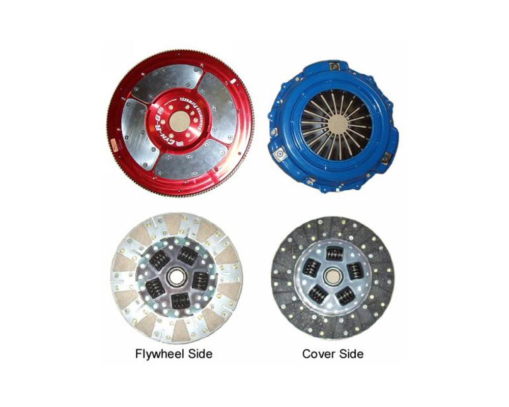 RPS Twin Friction Street Clutch with Aluminum Flywheel Chevrolet Corvette C6 05-12 - TF-04LSX-C6