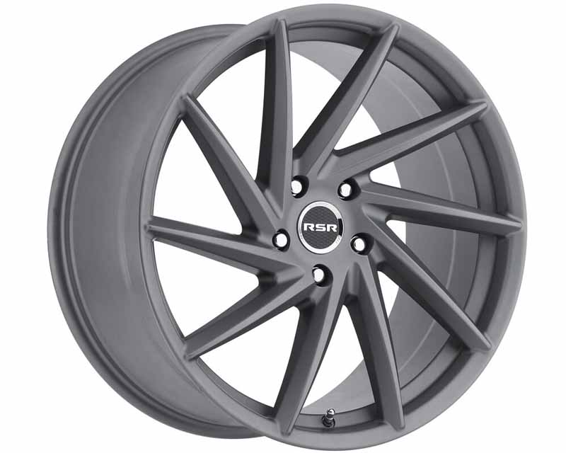 RSR Anthracite Grey Type R701 Wheel 18x8.5 5x114.3 38mm - R701-1885511438G