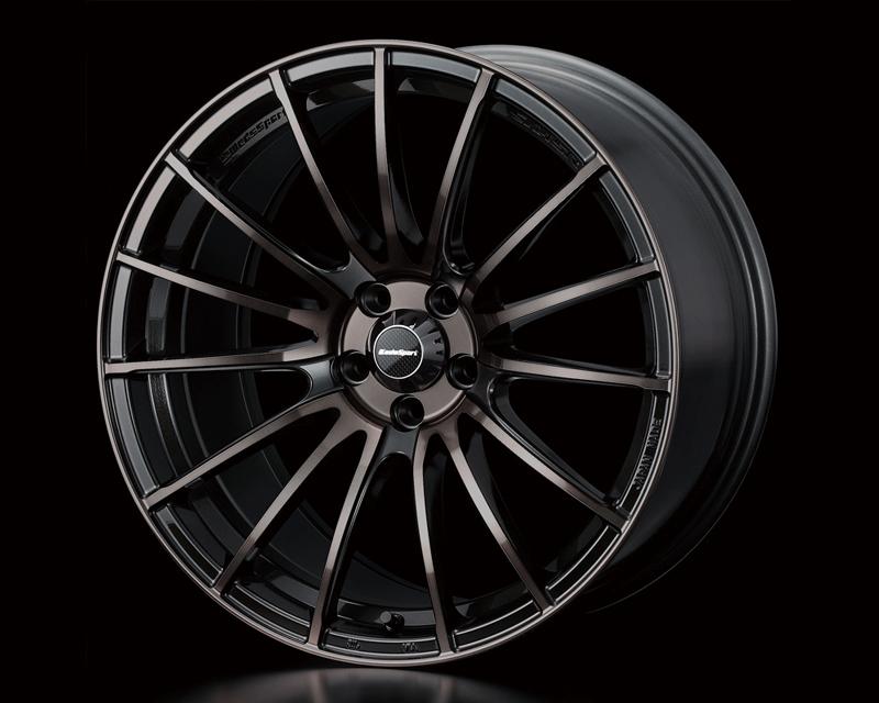 Weds Gunmetallic Bronze Clear SA-15R Wheel 15x6  4x100 +48mm - SA15R1564100GUN