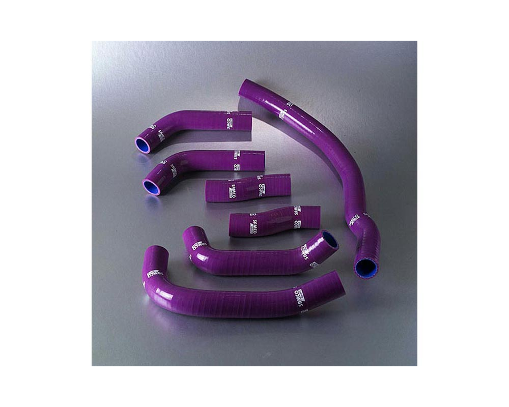 Samco Radiator / Coolant Hoses 8pc Toyota MR2 Turbo Rev 1+2 89-93