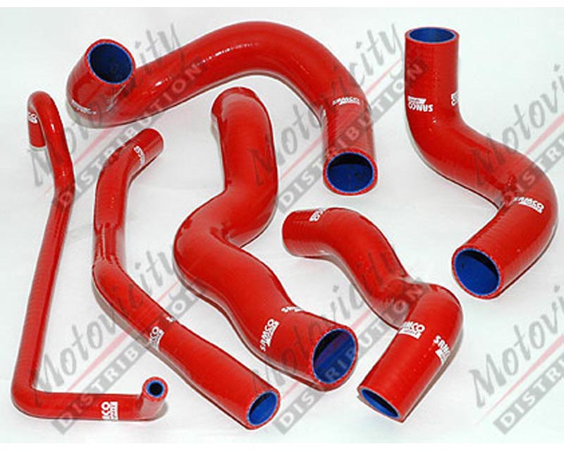 Samco Radiator Hose 6pc Ford Mustang 5.0L w/ AC - TCS25/C
