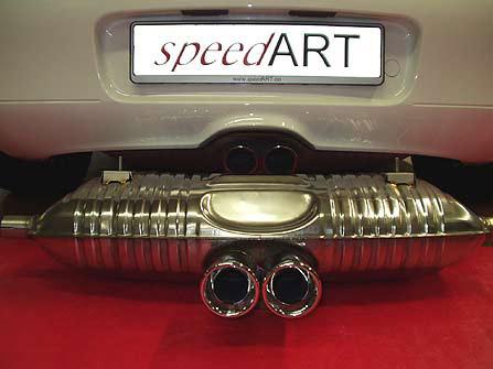 SpeedART Sport Exhaust Porsche Boxster 986 97-04 - P86.200.001