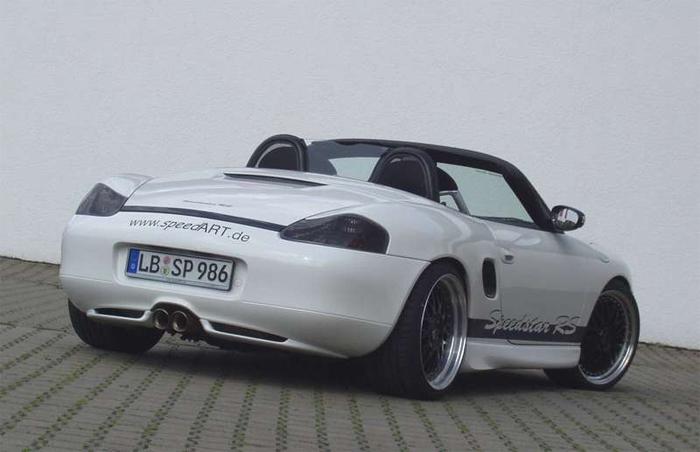 SpeedART Rear Diffuser Porsche Boxster 986 -03 - P86.505.001
