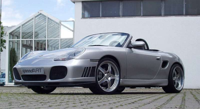 SpeedART GT3 Side Skirts Porsche Boxster 986 97-04