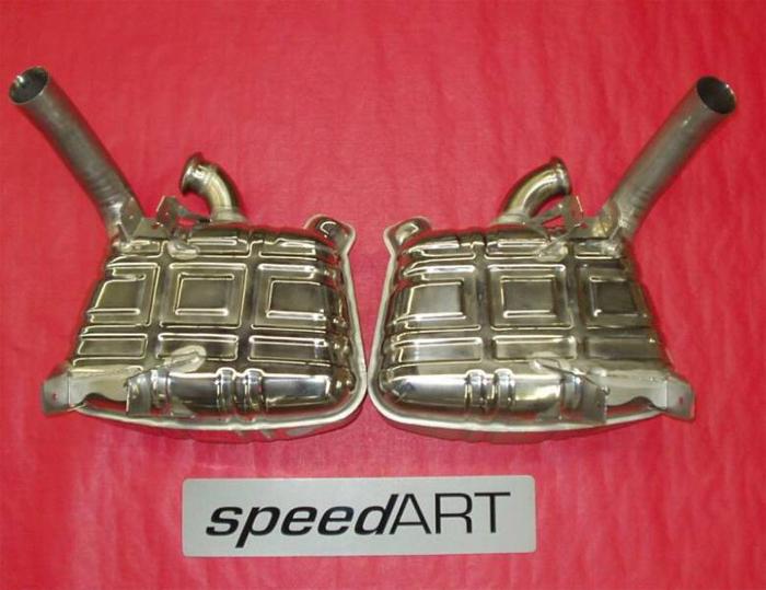 SpeedART Sport Exhaust Porsche 996 Carrera/C4S/GT3 98-05 - P96.200.001C