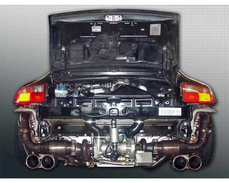 SpeedART 420hp Turbo Kit Porsche 996 3.6 Carrera - P96.450.PKIII