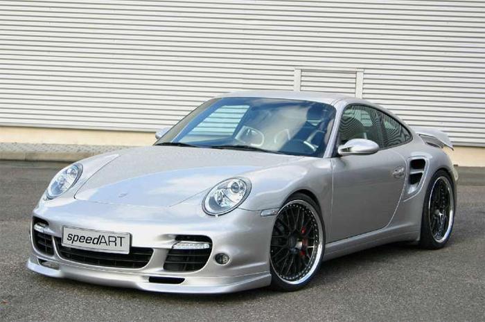 SpeedART RS Front Lip Spoiler Porsche 997 Turbo 06-09 - P97.FSL.TUR