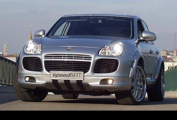 SpeedART RS Front Spoiler Porsche Cayenne Turbo 03-07 - P55.503.004