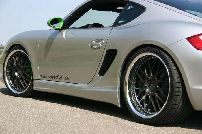 SpeedART RS Side Skirts Porsche Cayman 06-08 - P87.Cay.RSS