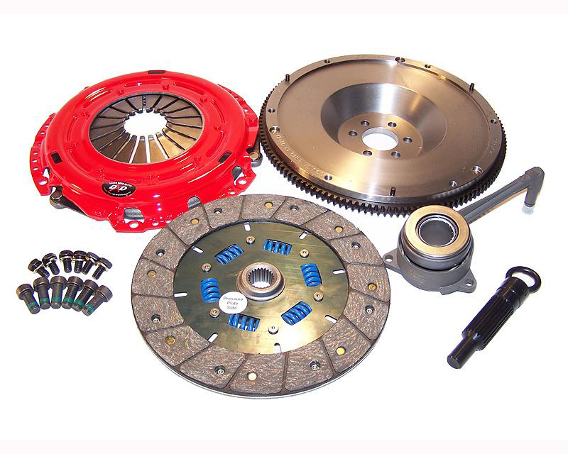 South Bend Clutch Kit Stage 3 Endurance with Flywheel Volkswagen Golf IV 4 Cyl 1.9T TDI 00-06 - K70316F-SS-TZ