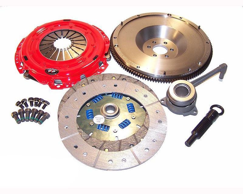 South Bend Clutch Kit Stage 4 Extreme for Single Mass Fly BMW M3 E36 6 Cyl 3.2L 96-99 - K70238-SS-X-SMF