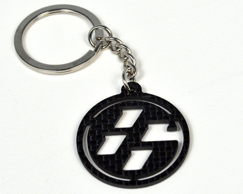 Carbon Fiber 86 Key Chain Scion FR-S 13-18 - FT86-car-key