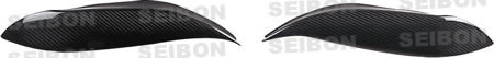 Seibon Carbon Fiber Eyebrows Honda Civic 96-98 - EB9698HDCV