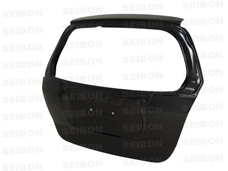 Seibon Carbon Fiber OEM-Style Rear Hatch Trunk Lid Honda Fit 07-08 - TL0708HDFIT