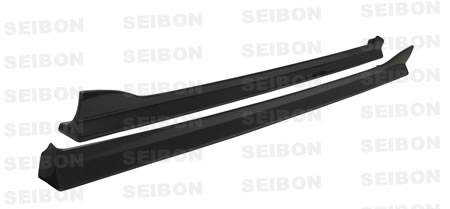 Seibon Carbon Fiber AE-Style Side Skirts Mazda RX8 04-05 - SS0405MZRX8-AE