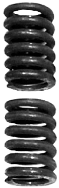Exhaust Accessory; Exhaust Bolt and Spring Nissan Versa 2012-2015 1.6L 4-Cyl - 4979