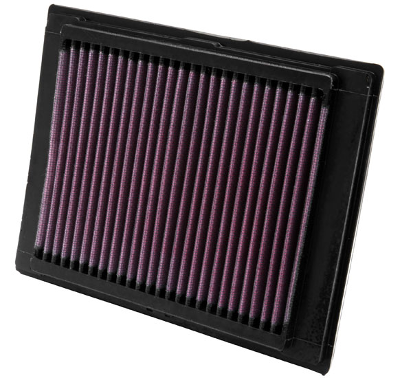 K&N Replacement Air Filter Ford Fiesta 2003-2006 1.6L 4-Cyl - 33-2853
