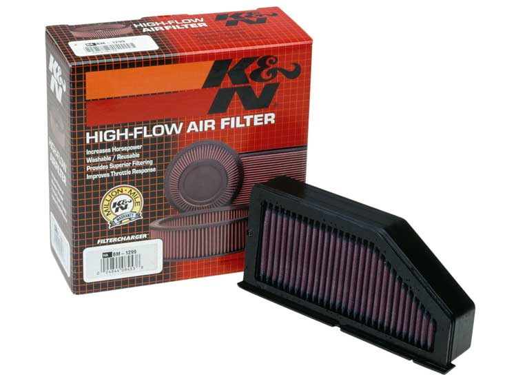 K&N Replacement Air Filter BMW Motorrad K1200 1997-2009 -L --Cyl - BM-1299
